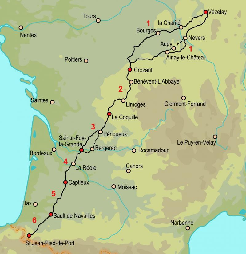 Vézelay Route